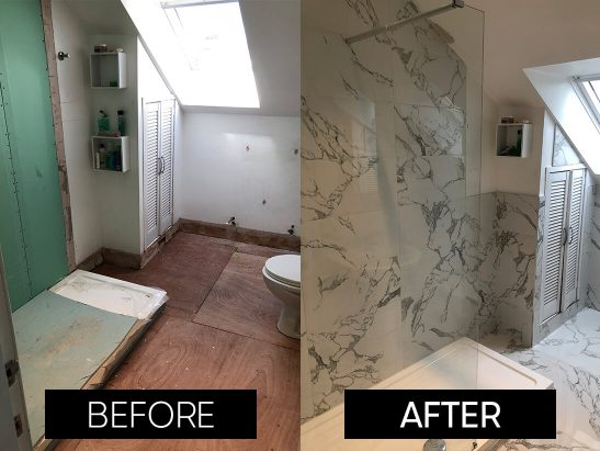 before and after bathroom 3