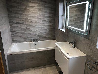 Stylishly Mordern Bathroom Design